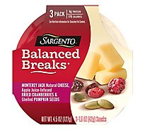 Sargento Montery Jack Apple Cranberry - 4.5 Oz