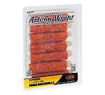 Formaggio Pepperoni And Mozzarella Artisan Wraps - 6 Oz