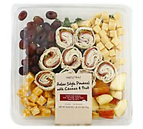 Signature Cafe Party Tray Pinwheel Italian Style Cheese & Fruit - 26.5 Oz