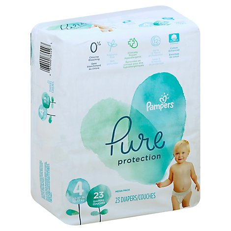 Pampers Pure S4 Mega - 23 Count