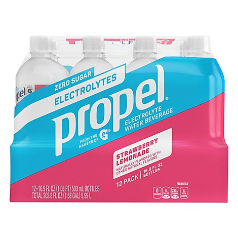 Propel Strawberry Lemonade - 12-16.9 Fl. Oz.