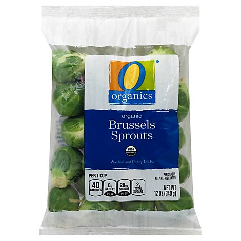 O Organics Brussels Sprouts - 12 Oz