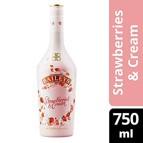 Baileys Strawberries And Cream 34 Proof - 750 Ml