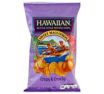 Tims Hawaiian Chips Sweet Maui Onion - 7.5 Oz