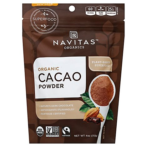 Navitas Cacao Powder - 4 Oz