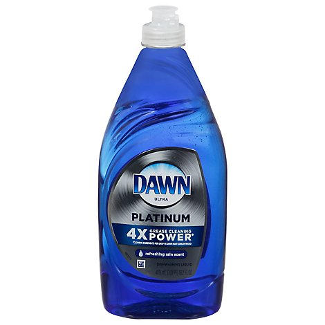 Dawn Ultra Platinum Dishwashing Liquid Refreshing Rain Scent - 16.2 Fl. Oz.