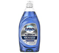 Dawn Ultra Platinum Dishwashing Liquid Refreshing Rain Scent Bottle - 16.2 Fl. Oz.