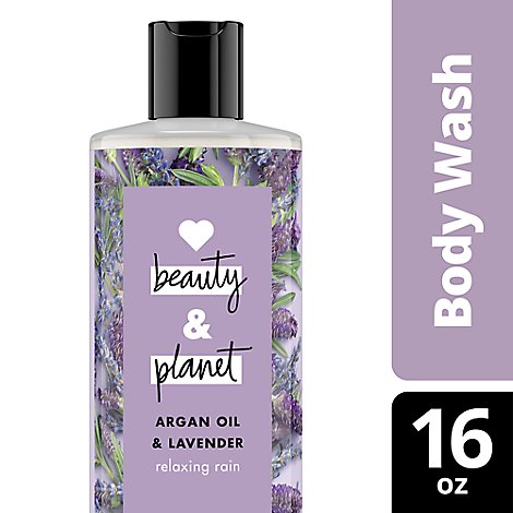 Love Beauty and Planet Body Wash Argan Oil & Lavender - 16 Fl. Oz.