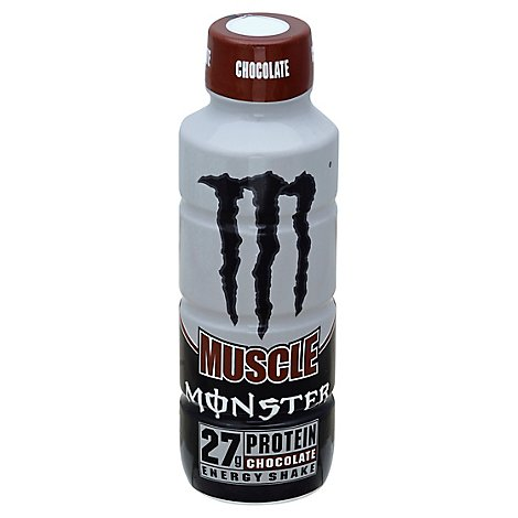 Monster Energy Muscle Monster Energy Shake Chocolate - 15 Fl. Oz.