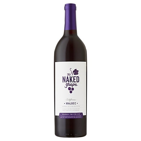 The Naked Grape Malbec Wine - 750 Ml