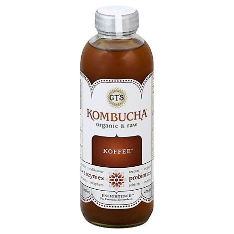 Gt Enlightened Kombucha Koffee - 16 Fl. Oz.