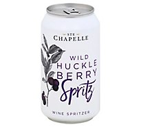 Ste Chapelle Wild Huckleberry Spritz Can - 375 Ml