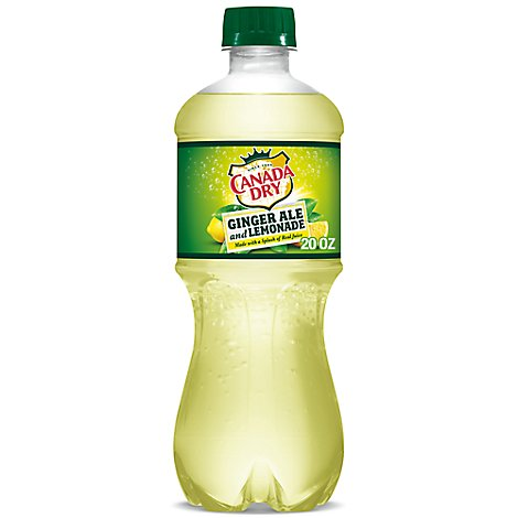 Canada Dry Ginger Ale Lemonade - 20 Fl. Oz.