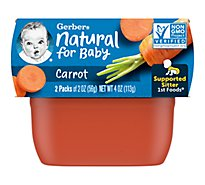 Gerb 1st Carrots - 4 Oz