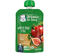 Gerb 2nd Org Apl Kale Fig - 3.5 Oz