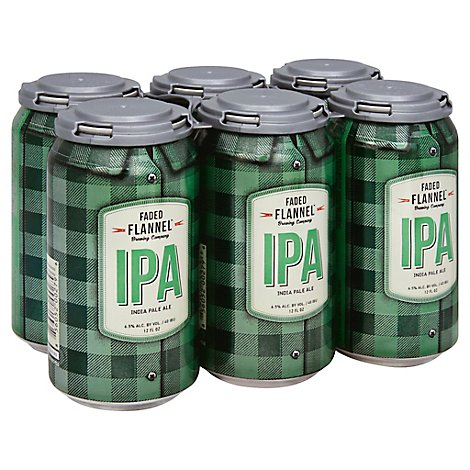 Faded Flannel Ipa In Cans - 6-12 Fl. Oz.