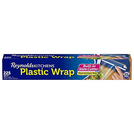 Reynolds Kitchens Quick Cut Plastic Wrap 225 Sq Ft Box - Each