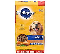 Pedigree Dog Food Dry For Adult Complete Nutrition Roasted Chicken Rice & Vegetable - 50 Lb