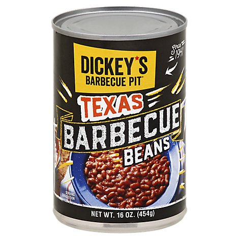 Dickeys Texas Barbecue Beans 16ounce - 15.5 Oz