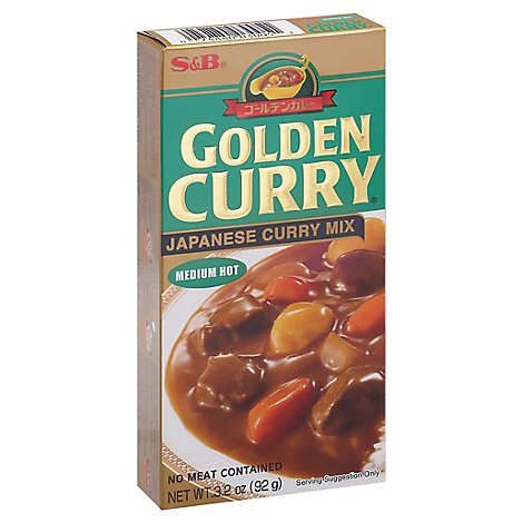 S&B Golden Curry Mx Med - 3.2 Oz