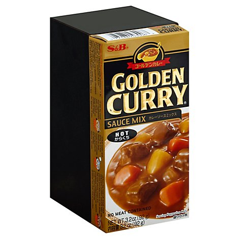 S&B Golden Curry Mx-Hot - 3.2 Oz