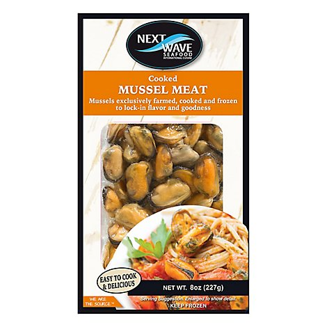 Next Wave Of Bantry Cooked Mussel Meat - 8 Oz