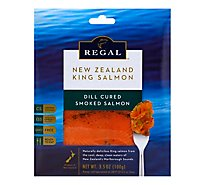 New Zealand King Salmon Smoked Regal Dill Cured - 100 Gram