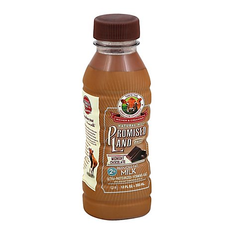 Promised Land 2% Chocolate Milk - 12 Fl. Oz.