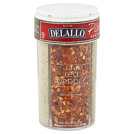 Delallo Seasoning Pizza 4vrty - 3.2 Oz