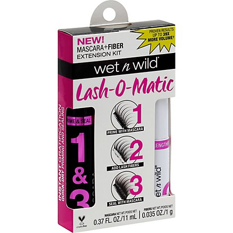 Markwi Oh My Lash Fiber Extension Kt - .37 Fl. Oz.