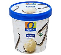 O Organics Ice Cream Vanilla - 1 Pint