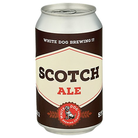 White Dog Scotch Ale In Cans - 6-12 Fl. Oz.