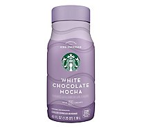 Starbucks Iec White Chocolate Mocha - 40 Fl. Oz.
