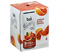 Bai Bubbles Jamaica Blood Orange - 4-11.5 Fl. Oz.
