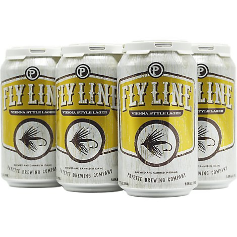 Payette Flyline Lager In Cans - 6-12 Fl. Oz.
