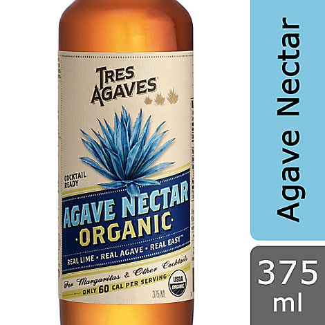 Tres Agaves Cocktail Ready Agave Nectar - 375 Ml