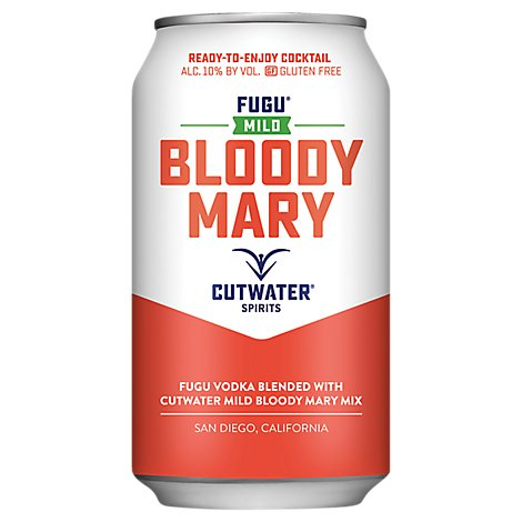 Cutwater Rtd Mild Bloody Mary Cans - 12 Fl. Oz.