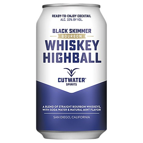 Cutwater Rtd Whiskey Highball Cans - 12 Fl. Oz.