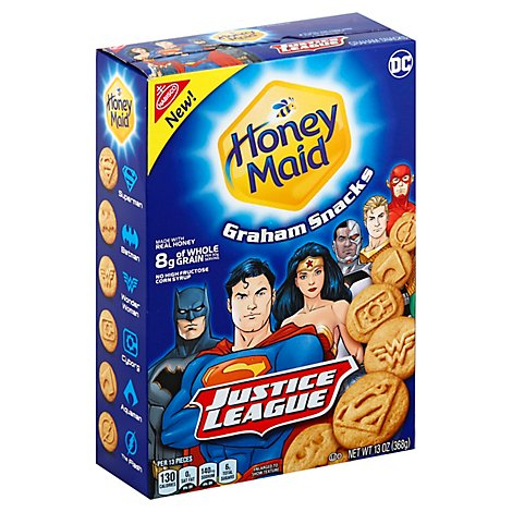 Honey Maid Crackers Justice League - 13 Oz