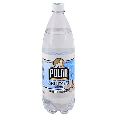 Polar Seltzer Toasted Coconut - 33.8 Fl. Oz.