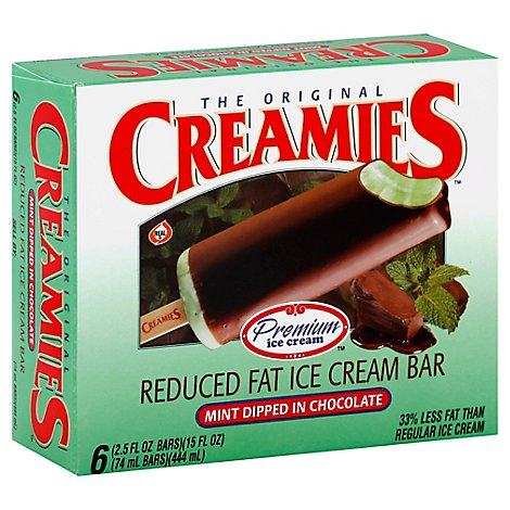 Creamies Mint Chocolate Dipped - 15.0 Fl. Oz.