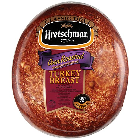 Kretschmar Turkey Oven Roasted - 0.50 LB
