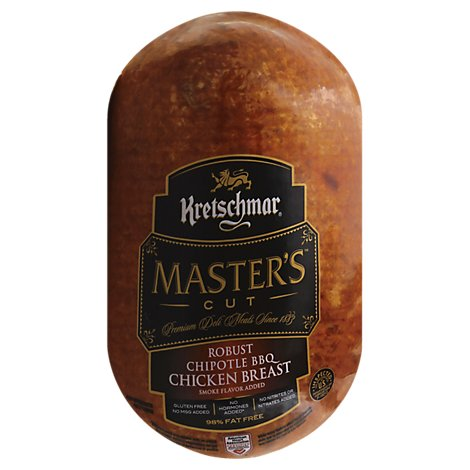 Kretschmar Chicken Breast Chipotle BBQ - 0.50 LB