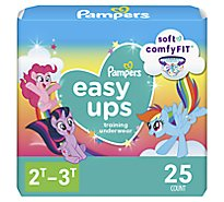 Pampers Easyup 2t3t Jumbo Girl - Each