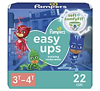 Pampers Easyup 3t4t Jumbo Boy 4/22 - Each