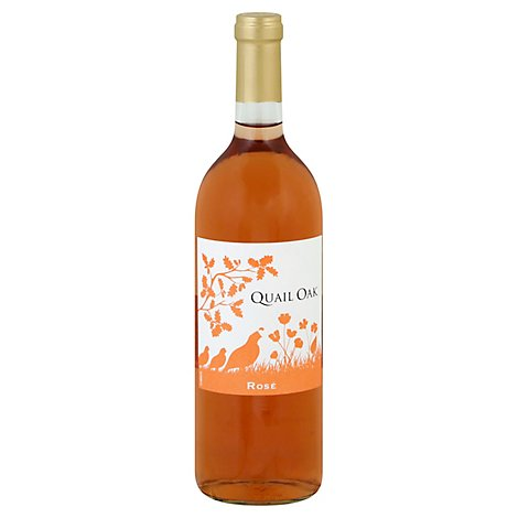 Quail Oak Wine Rose - 750 Ml