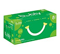 bubly Sparkling Water Lime Cans - 8-12 Fl. Oz.