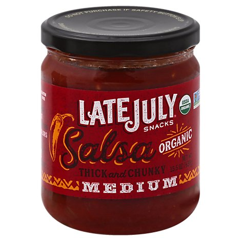 Late July Medium Salsa - 15.5 Oz