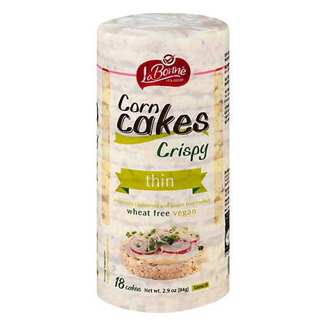 Liebers Thin Corn Cakes - 2.9 Oz