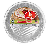 Handifoil Large Pie Pans - 6 Count